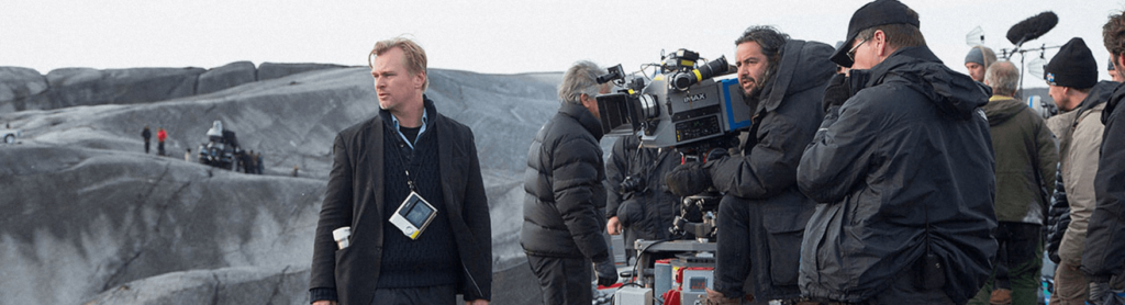 Nolan & Hoytema on set in Iceland