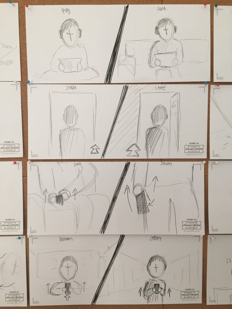 Slugabed Storyboards